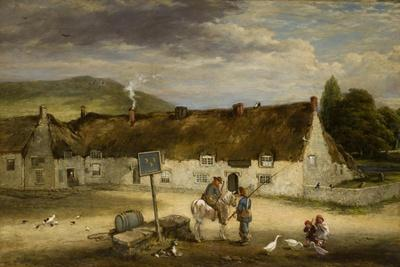 The Three Half Moons, Rothbury, 1887