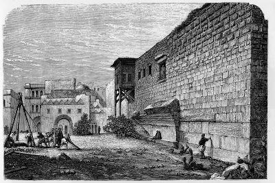 Robinson's Arch, Jerusalem--Giclee Print