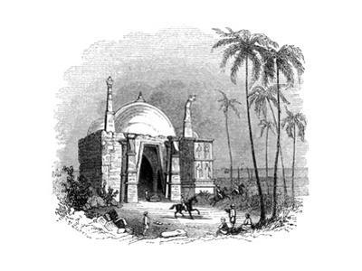 Temple of Somnath, Gujarat, India, 1847 by Robinson