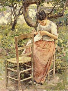 The Seamstress by Robinson Theodore