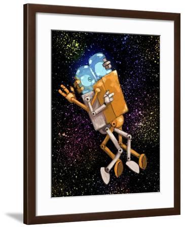 Robo Love-Craig Snodgrass-Framed Giclee Print