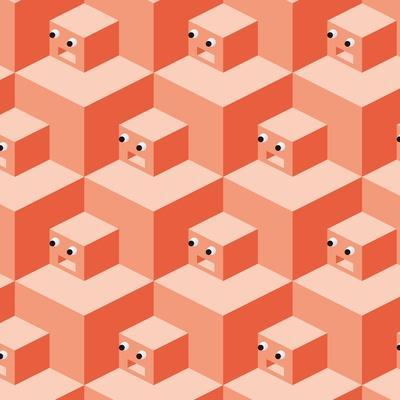 Pattern Cubes Robot