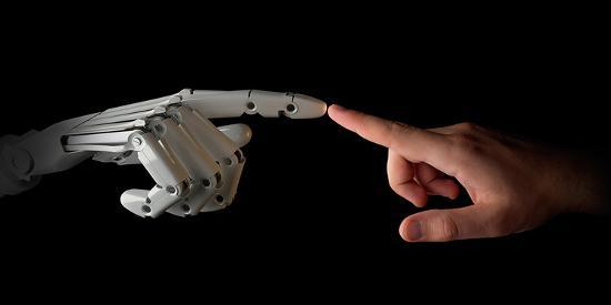 robot-human-fingers-touching