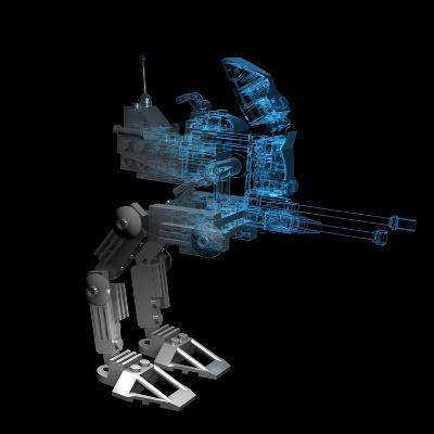 Robot-sauliusl-Art Print