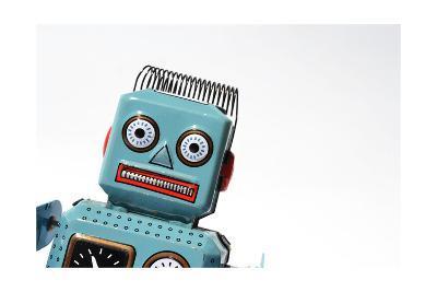 Robot-josefkubes-Art Print