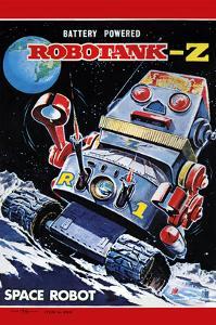 Robotank-Z Space Robot