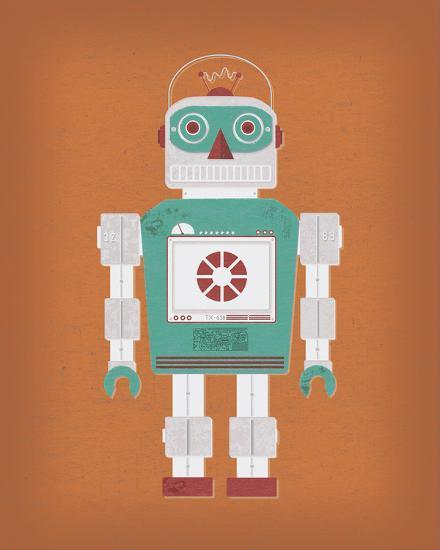 Robotik III-Tom Frazier-Giclee Print