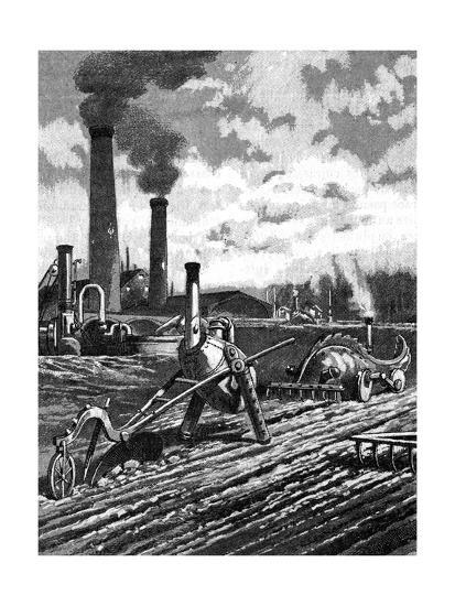 Robots as the Farm Workers of the Future--Giclee Print