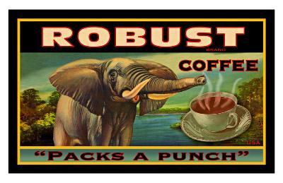 Robust Coffee--Giclee Print