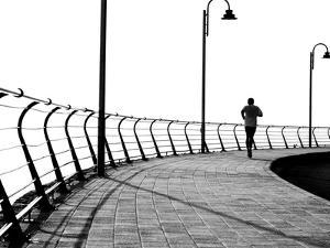 Lone Jogger by RobWilson