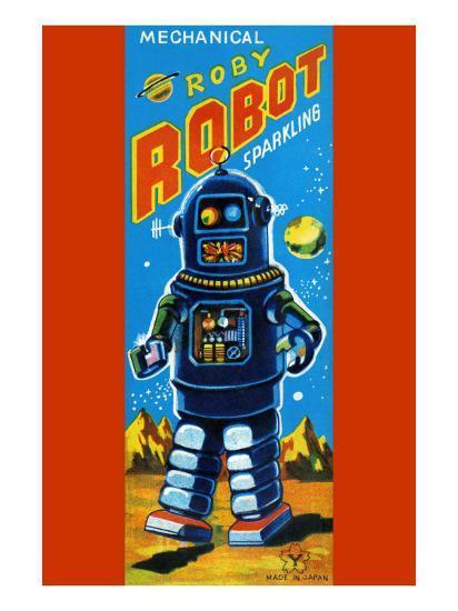 Roby Robot--Art Print
