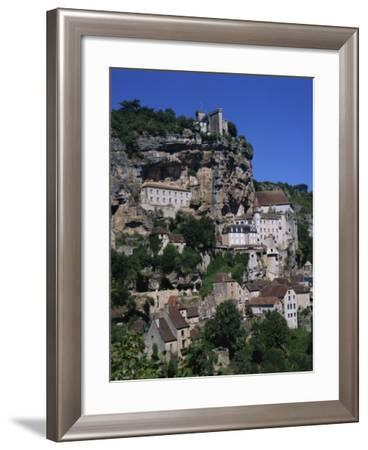 Rocamadour, Midi Pyrenees, France, Europe-Groenendijk Peter-Framed Photographic Print