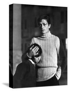 """""""Rocco and his Brothers"""" (Rocco and ses freres) by Luchino Visconti with Alain Delon, 1960 (b/w pho"""