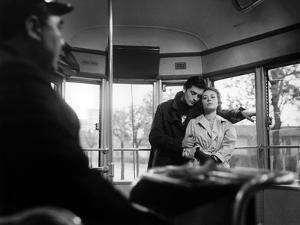 """""""Rocco and his Brothers"""" (Rocco and ses freres) by Luchino Visconti with Alain Delon and Annie Gira"""