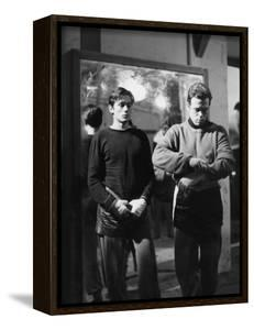 """""""Rocco and his Brothers"""" (Rocco and ses freres) by Luchino Visconti with Alain Delon and Renato Sal"""