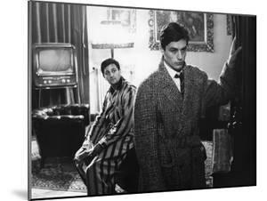 """""""Rocco and his Brothers"""" (Rocco and ses freres) by Luchino Visconti with Roger Hanin and Alain Delo"""