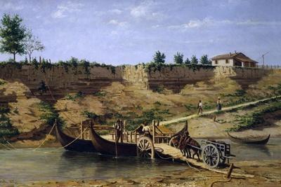 Porto Marturano on the Taro River