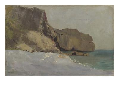 Rochers de Vallières, prés de Royan-Odilon Redon-Giclee Print