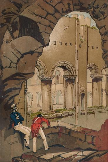 'Rochester Castle. - Interior', c1845, (1864)-Unknown-Giclee Print