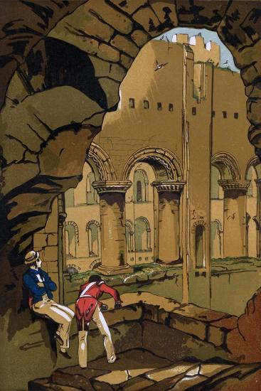 Rochester Castle, Kent, 19th Century--Giclee Print