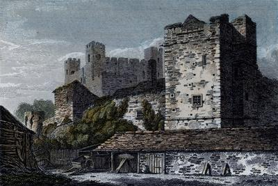 Rochester Castle, Kent--Giclee Print
