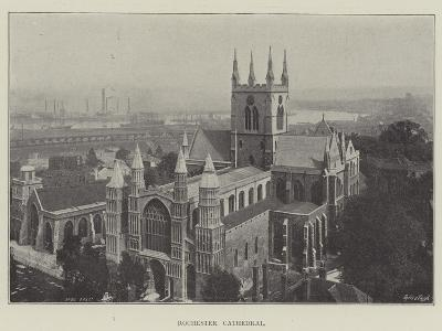 Rochester Cathedral--Giclee Print