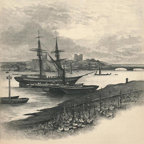'Rochester, from Strood', 1886-Unknown-Giclee Print