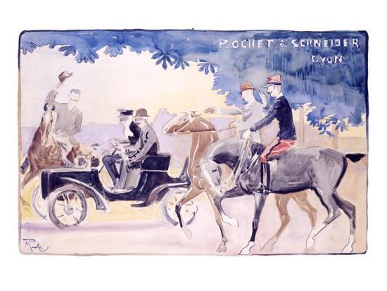 Rochet and Schneider-Maurice Romberg-Giclee Print