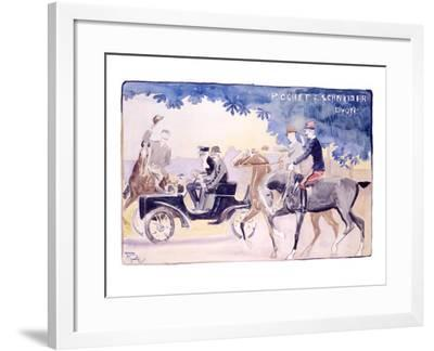 Rochet and Schneider-Maurice Romberg-Framed Giclee Print