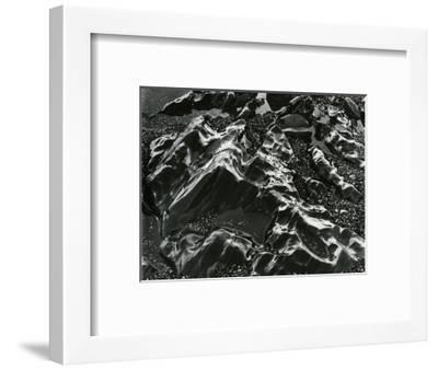 Rock and Pebbles, Pebble Beach, California, c. 1968-Brett Weston-Framed Photographic Print