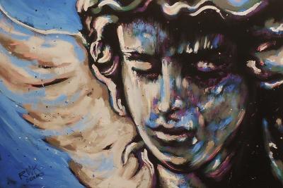 Rock Angel-Rock Demarco-Giclee Print