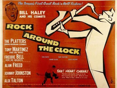 Rock Around the Clock, 1956--Art Print