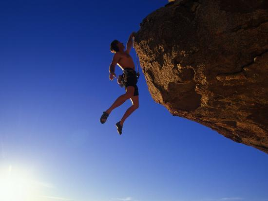 Rock Climber-Greg Epperson-Photographic Print