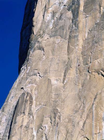 Rock Climbers Scale El Capitan-Jeff Foott-Photographic Print