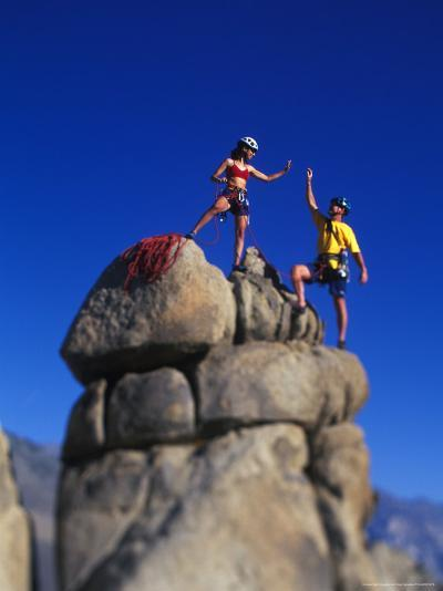 Rock Climbers-Greg Epperson-Photographic Print