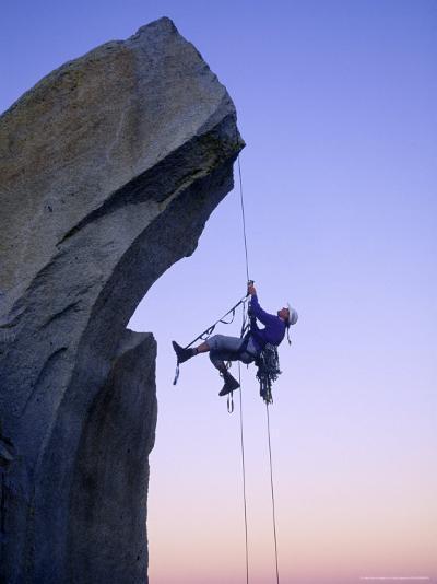 Rock Climbing, the Needles, CA-Greg Epperson-Photographic Print