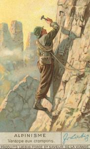 Rock Climbing with Crampons