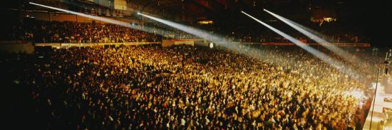 Rock Concert Interior Chicago Il, USA--Photographic Print
