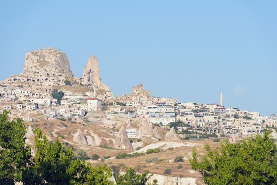 Rock-Cut Topography at Uchisar, Cappadocia, Anatolia, Turkey, Asia Minor-Christian Kober-Photographic Print