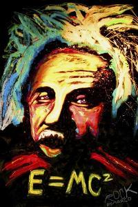 Einstein Signed by Rock Demarco