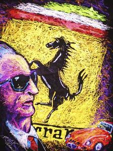 Enzo Ferrari Emblem by Rock Demarco