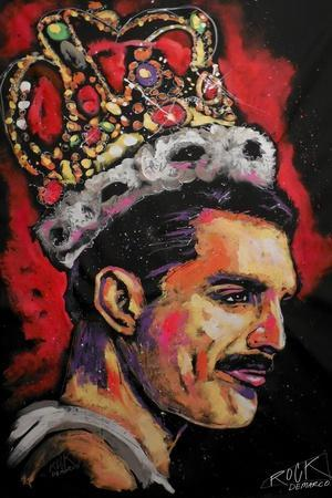 Freddie Mercury Painting 002