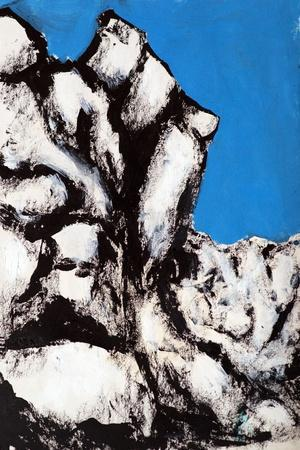 Rock Face, 2011-Rob Woods-Giclee Print