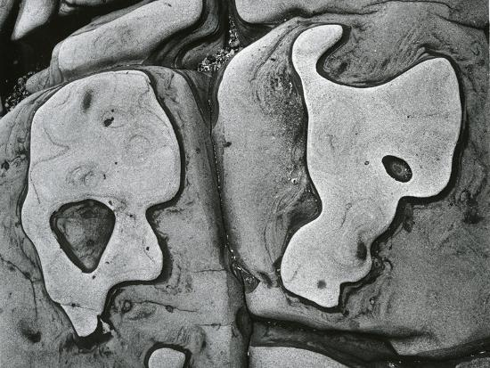 Rock Formation, c.1950-Brett Weston-Photographic Print