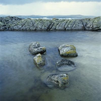 Rock Formation in Ocean-Micha Pawlitzki-Photographic Print