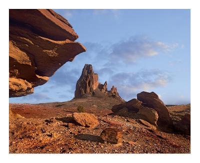 Rock formation, Monument Valley, Arizona-Tim Fitzharris-Art Print