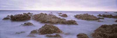 Rock Formation on the Coast, Mendocino, California, USA--Photographic Print