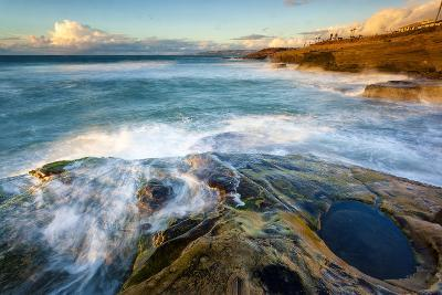 Rock Formations Along the Coastline Near Sunset Cliffs, San Diego, Ca-Andrew Shoemaker-Photographic Print