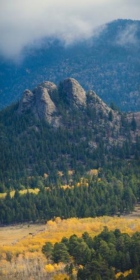 Rock Formations Along the Road Outside Estes Park, Rocky Mountains, Colorado,USA-Anna Miller-Photographic Print