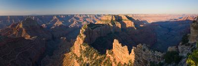 Rock Formations at a Canyon, North Rim, Grand Canyon National Park, Arizona, USA--Photographic Print